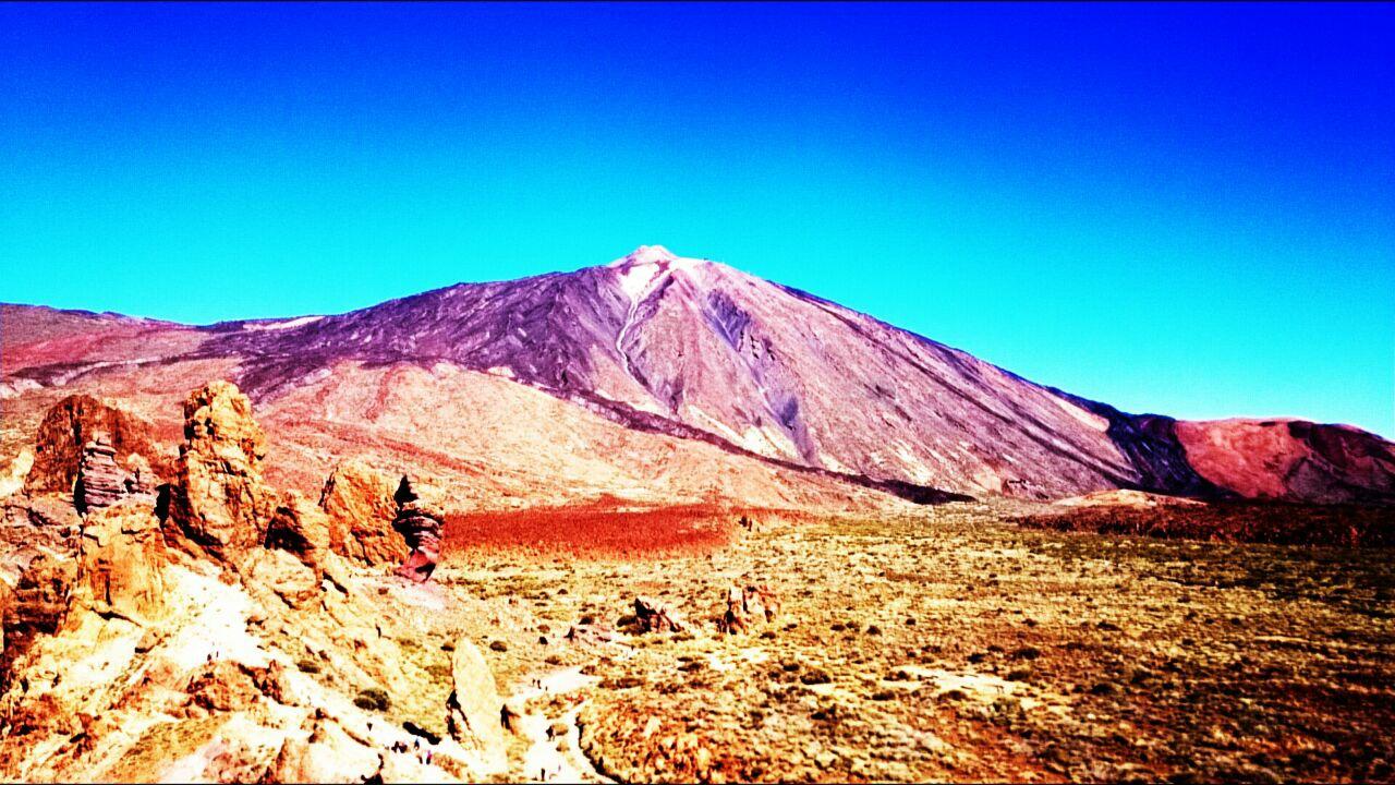 Pico del Teide auf Teneriffa, Kanarische Inseln Höchster Berg Spaniens und Vulkan